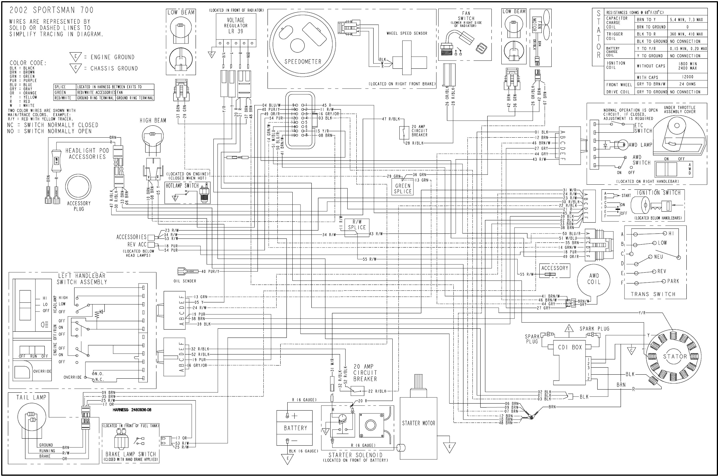 2004 polaris 700 twin efi atv wiring schematic wiring diagram 2009 polaris atv wiring diagram polaris atv wiring diagram #6